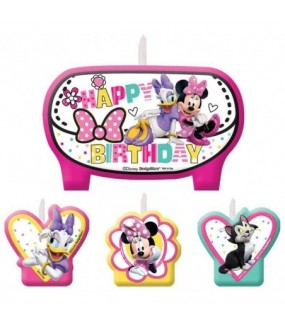 Minnie Mouse Happy Helpers candle set