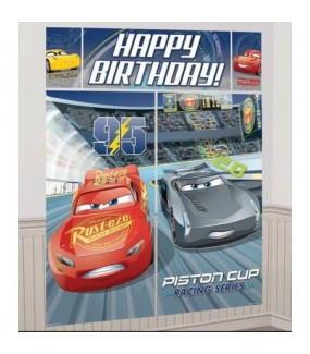 Cars 3 Wall Decorating Kit