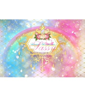 Unicorn Backdrop F