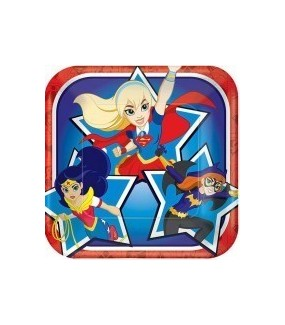 Super Hero Girls Lunch Plates