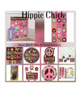 Hippie Chick Party Pack