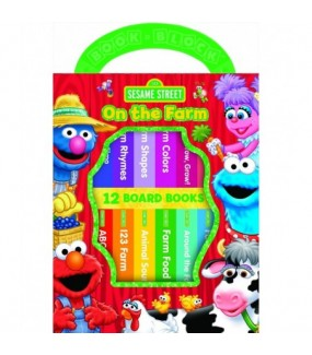 Sesame Street on the Farm Books