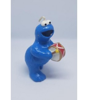Cookie Monster Candle