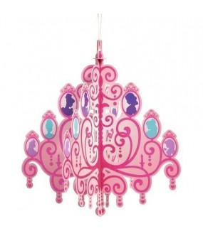 Princess Hanging Glitter Chandelier
