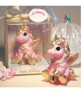 Unicorn Smokeless Pink Candle
