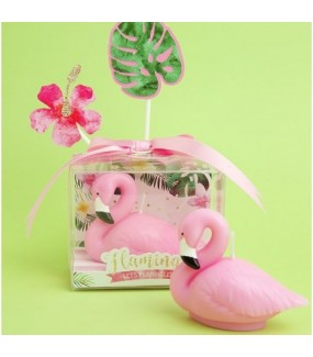 Flamingo Smokeless Candle