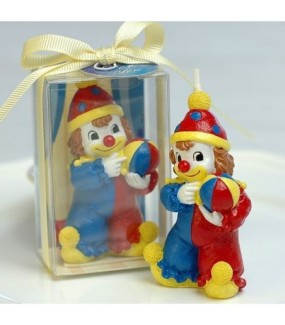 Clown/Circus Smokeless Candle