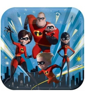 Incredibles Dinner Plates