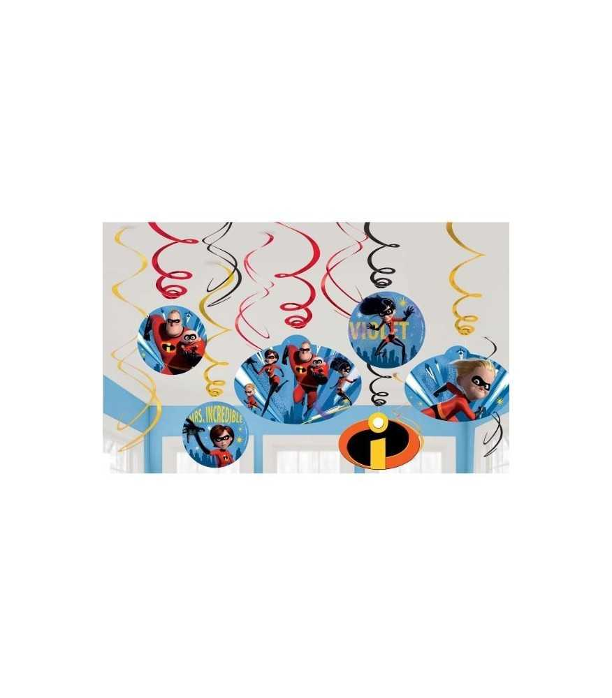 Incredibles Swirl Decorations