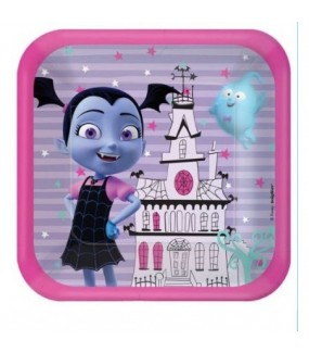 Vampirina Lunch Plates