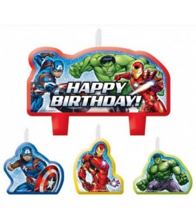 Avengers Epic Candles