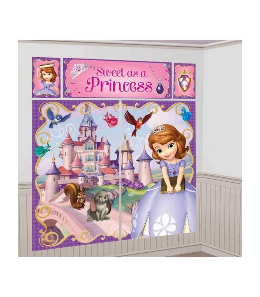 Sofia the First Wall Decorating Kit