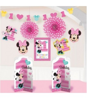 Minnie Mouse Fun to be One - Room Decorating Kit