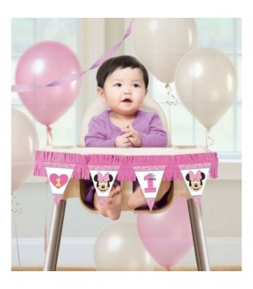 Minnie Mouse - Fun to Be One High Chair Decorating Kit