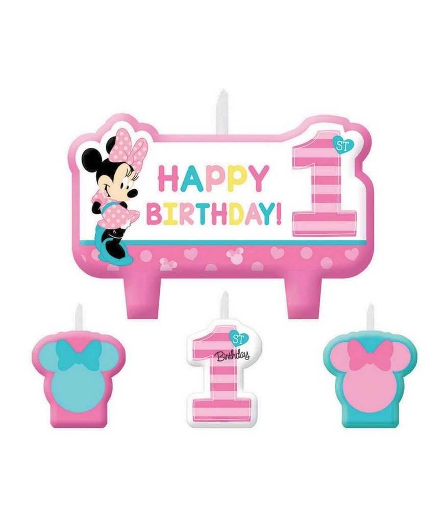 Minnie Mouse - Fun to Be One Candles