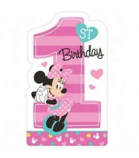 Minnie Mouse - Fun to Be One Invitations