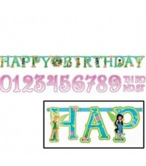 Tinkerbell Age Number Banner