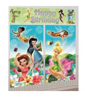 Tinkerbell Giant Wall Decorating Kit