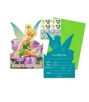 Tinkerbell Invitations
