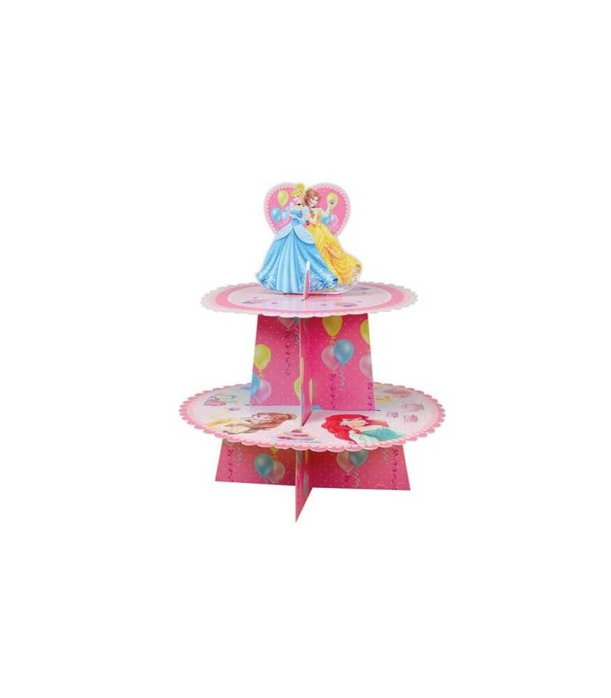 Princess 2 Tier Cupcake Stand