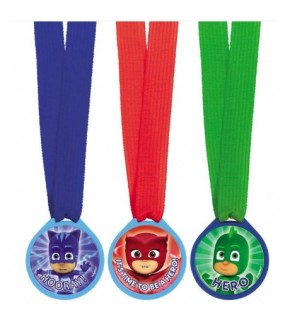 Pj Masks Mini Award Favour Medals