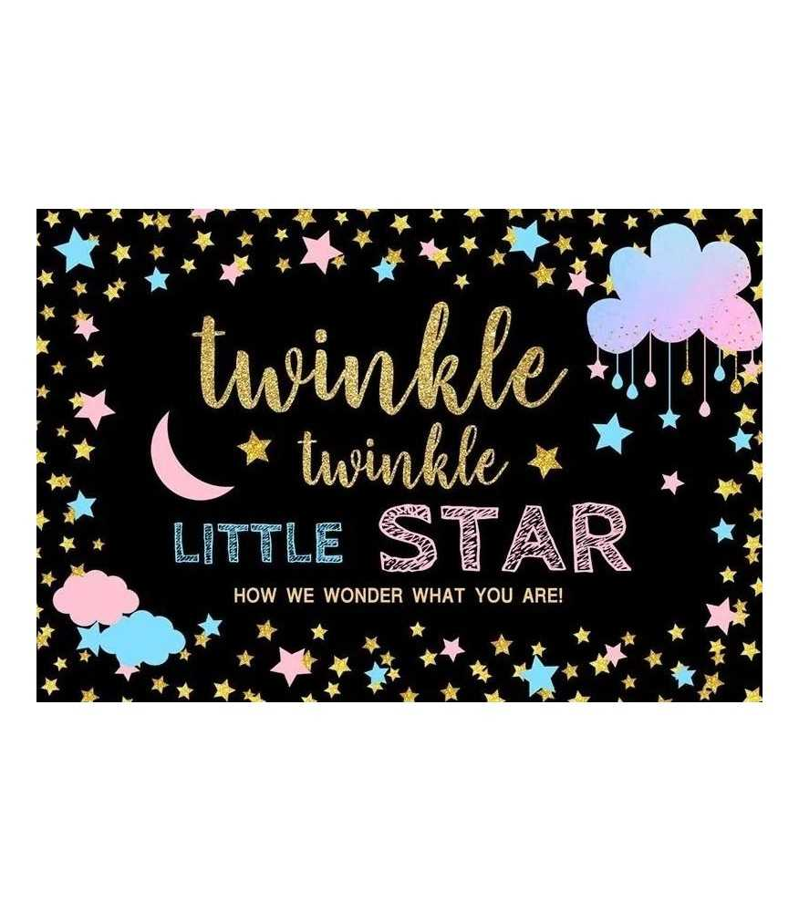 Twinkle Twinkle Little Star Backdrop