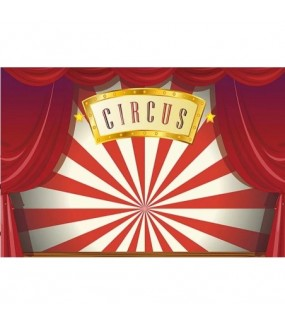 Circus Backdrop