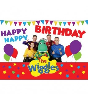 Wiggles Backdrop (HAPPY BIRTHDAY)