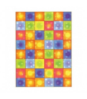 Boogie Squares Room Roll