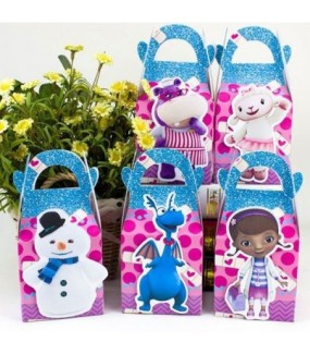 Doc McStuffins Party Favour Boxes
