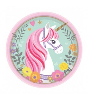 Magical Unicorn Lunch Plates