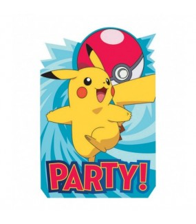 Pokemon Invitations