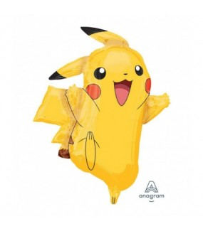 Pokemon Shape Pikachu (Foil Balloon)