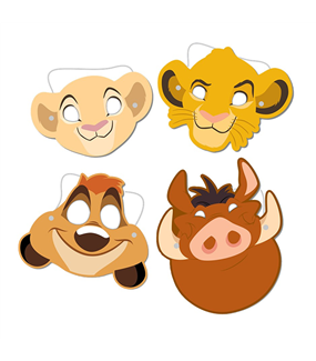 Lion King Ppr Masks