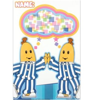Bananas in Pyjamas Folded Loot Bags