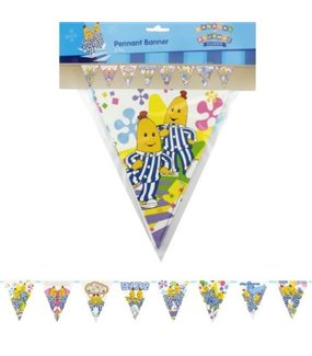 Bananas in Pyjamas Flag Pennant Banner