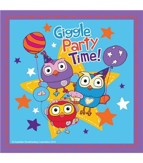 Giggle & Hoot Lunch Napkins