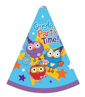 Giggle & Hoot Paper Cone Hats