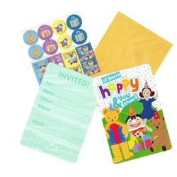 Play School PCard Invites