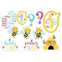 What Will it Bee? Cardboard Cutouts Assorted Shapes & Sizes