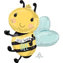 What Will it Bee Little Honey Bee? Supershape Foil Balloon