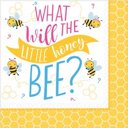 What Will it Bee? Lunch Napkins
