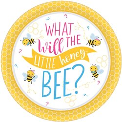 What Will It Bee? Dinner Round Plates