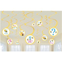 What Will it Bee? Spiral Decorations Value Pack