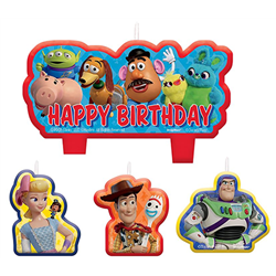 TOY STORY 4 BIRTHDAY CANDLE