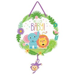 HELLO BABY HANGING SIGN