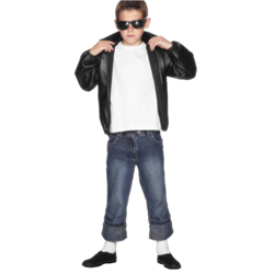 T BIRD LEATHER LOOK CHILDS JACKET