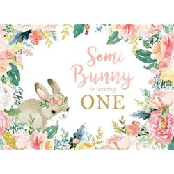 SOME BUNNY IS TURNING ONE
