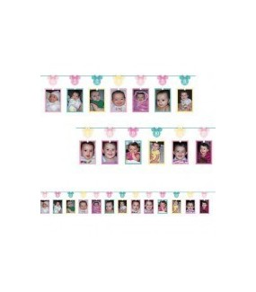 Minnie Mouse Fun To Be One Photo Garland