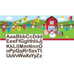 GIANT PARTY PERSONALIZE IT BANNER